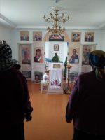 Богослужение в с. Белом Карасукского района