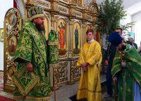 День Святой Троицы в Кафедральном соборе г. Карасука (видео)