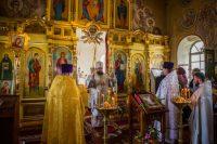 Литургия в храме с. Чингиссы Ордынского района (видео)