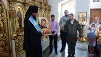 Автомобильный крестный ход посетил Кафедральный собор г. Карасука