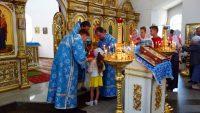 Архиерейская Литургия в Кафедральном  соборе г. Карасука