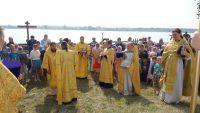 Архиерейская Литургия в день престольного праздника в с. Чингиccах (видео)