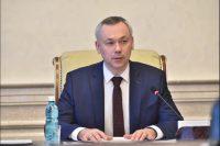 Губернатор Новосибирской области А. А. Травников поздравил епископа Филиппа с Днем рождения