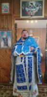 Божественная литургия в день праздника Покрова Пресвятой Богородицы в с. Багане