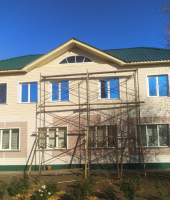В г. Карасуке завершено строительство 2-го этажа здания Епархиального управления
