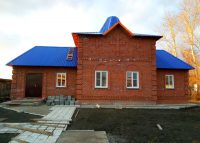 В храме с. Колыбельского завершено строительство кровли