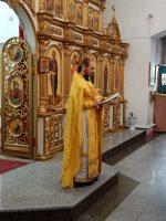 Литургия в Кафедральном соборе г. Карасука
