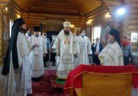 Архиерейское служение в Багане в день празднования Собора Архистратига Михаила и прочих Небесных Сил Бесплотных