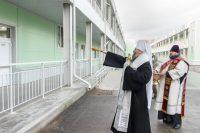 В Новосибирске состоялось освящение новой инфекционной больницы для пациентов с коронавирусной инфекцией