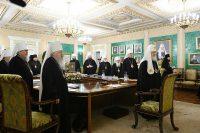В Москве завершилось последнее в уходящем году заседание Священного Синода Русской Православной Церкви