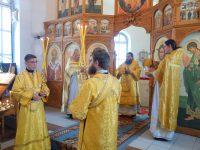 Архиерейский визит в Кочковский район