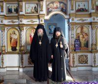 Дружественный визит архиепископа Анадырского и Чукотского Ипатия в Карасукскую епархию