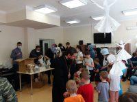 В понедельник Светлой седмицы епископ Филипп посетил детский туберкулезный санаторий