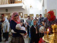Архиерейская Литургия в Кафедральном соборе г. Карасука в день памяти блаж. Ксении Петербургской