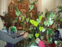 Богослужение в день Святой Троицы в храме  р. п. Чистоозерное