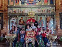 Божественная литургия в с. Верх-Каргате