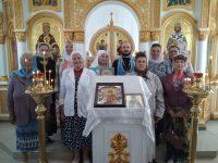 Молебен в храме во имя св. равноапостольного  великого князя Владимира г. Карасука