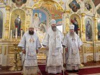 Епископ Филипп принял участие в престольном празднике  Вознесенского собора