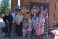 Престольный праздник в храме во имя св. равноапостольного  князя Владимира г. Карасука