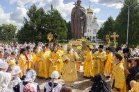 В Новосибирске торжественно отпраздновали День Крещения Руси