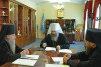 Архиерейский совет Новосибирской митрополии
