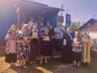Престольный праздник в Успенском храме с. Половинного Краснозерского района