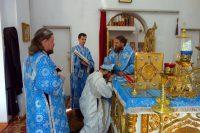 Архиерейская литургия и молебен на начало учебного года в г. Карасуке