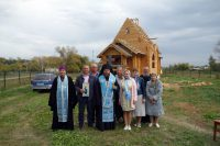 В селе Решеты Кочковского района строится новый храм в честь Святой Троицы.