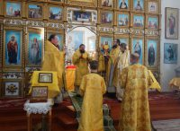 Архиерейский визит в день праздника св. ап. Иоанна Богослова  в  Здвинский район