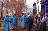 Праздник Покрова Пресвятой Богородицы  в Успенском храме р. п. Чистоозерное