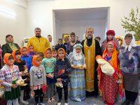 Праздник Покрова Пресвятой Богородиц в приходе во имя прп. Сергия Радонежского р.п. Краснозерское