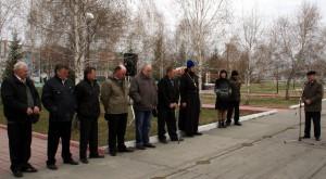 «Чернобыль – черная боль». Митинг, посвященный памяти жертв Чернобыльской АЭС в с. Довольное (видео)