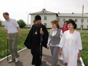 Поездка епископа Филиппа в Купинский район