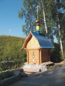 Паломническая поездка к Святому источнику микрорайона Ложок г. Искитима