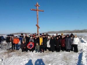 Поклонный Крест в с. Рождественка Карасукского района