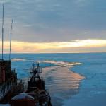 Лед в Арктике в этом году аномально тоно