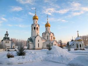 Литургия в Иоанно-Предтеченском мужском монастыре. (видео)