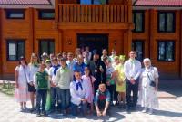 Завершился 13-й сезон Православного летнего лагеря во имя Архистратига Михаила для детей-сирот (видео)