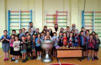 Епископ Филипп совершил крещение детей в Ордынской школе-интернате (видео)