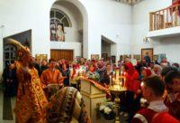 Пасха Христова в Кафедральном соборе г. Карасука (видео)