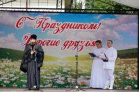День семьи, любви и верности в Ордынске (видео)