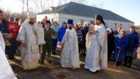 Освящение нового храма во имя Архистратига Михаила в с. Михайловке Карасукского района (видео)