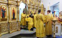 Архиерейская Литургия в г. Карасуке в день празднования Собора  новомучеников и исповедников Церкви Русской (видео)