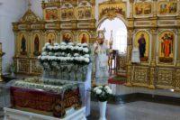 Архиерейская Литургия в Великую Субботу в Кафедральном  соборе г. Карасука (видео)