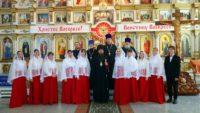 Антипасха  в Троицком соборе р. п. Ордынское (видео)