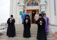 Праздник Благовещения Пресвятой Богородицы в Ордынске (видео)