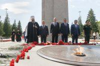 В Новосибирске почтили память погибших в годы Великой Отечественной войны (видео)