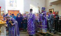 Праздник Торжества Православия в Кафедральном соборе г. Карасука и начало Крестного хода со святынями по 9 районам Новосибирской области (видео)