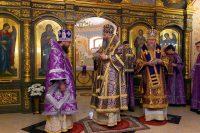 Епископ Филипп принял участие в освящении храма в честь иконы Божией Матери «Скоропослушница» на ст. Мочище (видео)