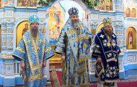 Епископ Филипп принял участие в  празднике Казанской иконы Божией Матери в Казанском храме в р.п. Краснообск